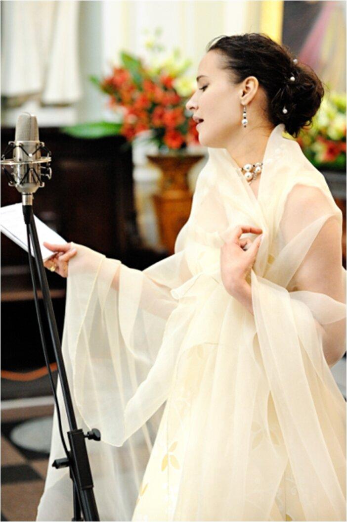 Elena Egorova - Oprawa muzyczna uroczystości